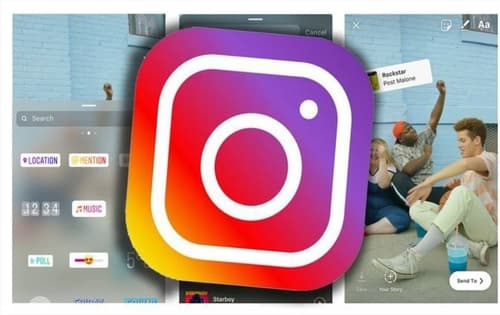 How to Change Background of Instagram Story- Change Background Color