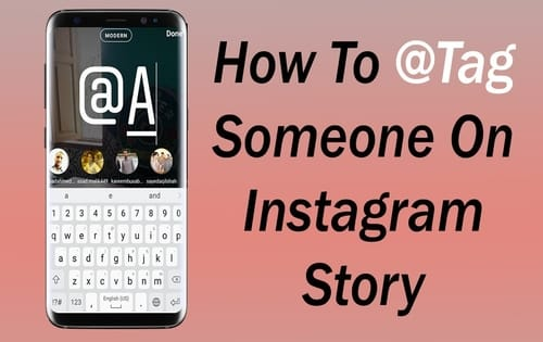 How to Tag People In Your Instagram Story- Step by Step Instructions