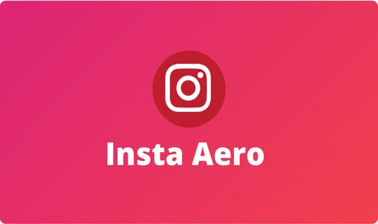 InstaAero for PC- Download Latest Version of Insta Aero For PC